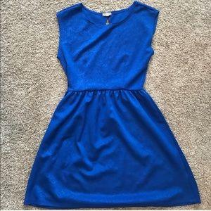 Eyeshadow Blue Dress